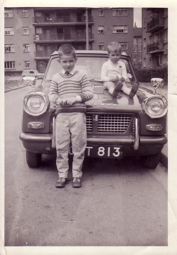 Terry & Greg Shields, 1962
