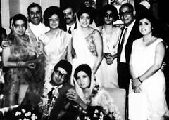 Minoo Bhandhara marries Goshi Kandawalla in 1966 (Doc Kazi) Tags: pakistan parsi minoo bapsisidhwa bapsi goshi kandawalla minoobhandara
