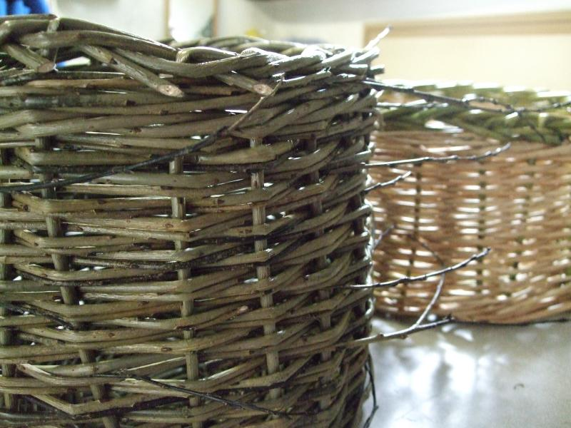 Our finished baskets