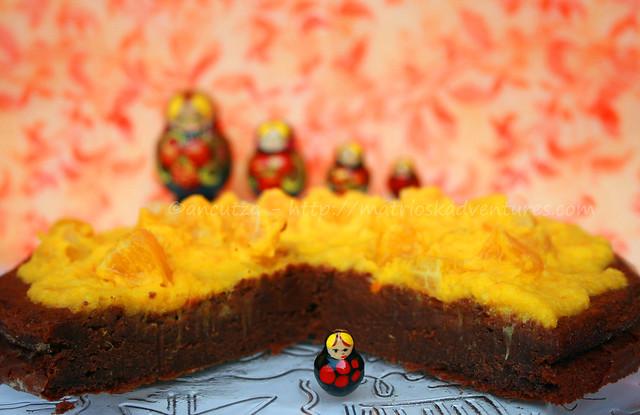 ricetta con foto Torta al cioccolato e arance