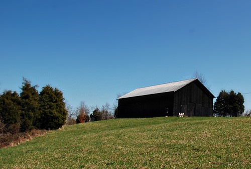 Barn on a Hill - 85/365