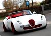 Wiesmann MF5 Roadster (Philipp Lücke) Tags: red white germany grey olympus e3 spotting exotics roadster wiesmann carspotting mf5 eor dülmen 50200 mf4 cartocar exoticspotting mf4s