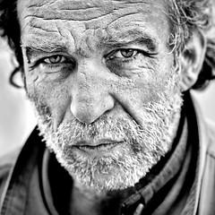 Mon nom est Personne ... (Thibaut Lafaye) Tags: street light portrait man paris modern yeux il lumiere western mio mon nome rue personne homme est  regard nessuno 500x500 nom cinematique echange specialpicture winner500