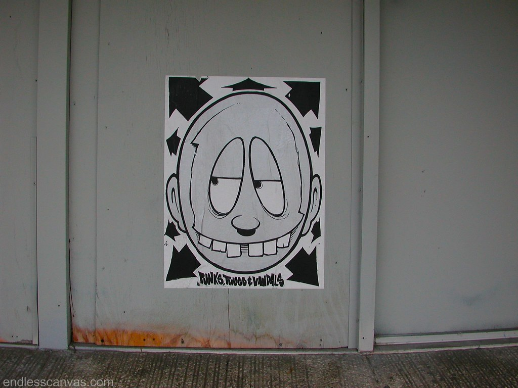 Broke, PTV, Graffiti, Street Art, Poster, Oakland,