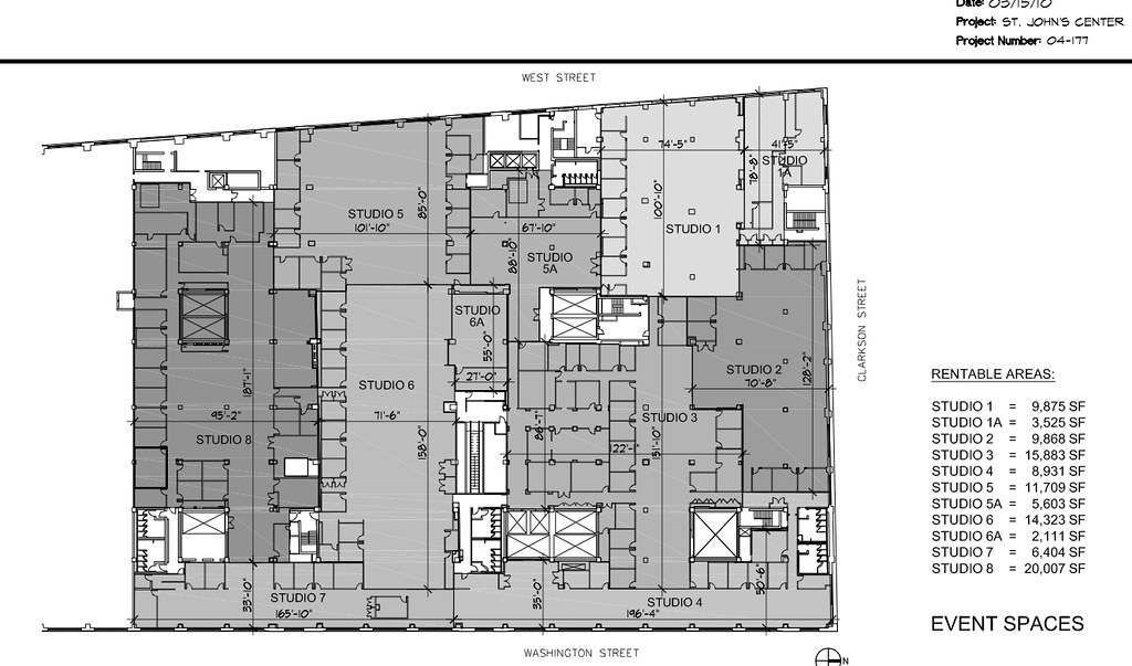 Floor Plans 550WashingtonSt B/W