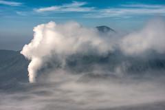 #15 - HDR - The 3 mountains (-Azri) Tags: mountain canon indonesia volcano adventure gunung jalan surabaya azri bromo semeru phototravel ijen ganang