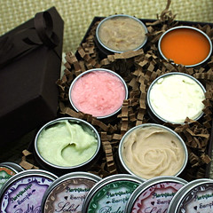 Body Butters Assortie Sample Gift pack - Natural eco-friendly and aromatic 6 butters (Herbolution) Tags: green set natural cream gift organic eco earthday ecofriendly moisturizer sheabutter motherday bodybutter