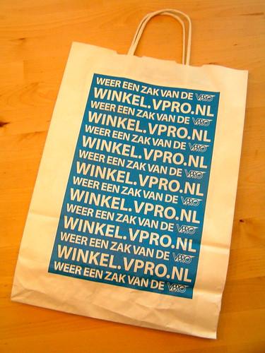 Weer een zak van de VPRO