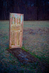 Door To Nowhere (ChongoIsDanegerous) Tags: door strange fun photography weird stand photo alone image empty snapshot nowhere picture photograph frame dane float jam misleading hillard sonyalphadslra200 danehillard