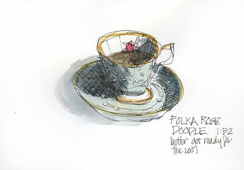 100402 Polka Rose Doodle