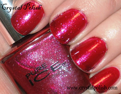 Pure Ice Iced Merlot (CrystalPolish) Tags: red shimmer pureice icedmerlot