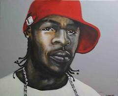 urban (Mickal Caruge) Tags: martinique peinture blackman visage casquetterouge