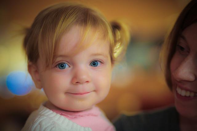 Bright-eyed Lydia