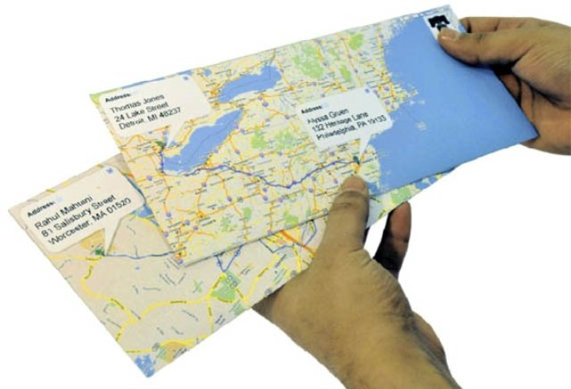 Google-Maps-Envelopes