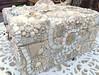 Romantic white mosaic Box (Waschbear - Frances Green) Tags: flowers wedding dog white glass labrador treasure box chest mosaics pearls dawanda waschbear httpwaschbeardawandacom waschbeardesigns httpendawandacomshopwaschbear
