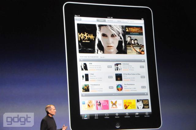 APPLE iPAD現場, Steve Jobs(賈伯斯)推出ipad