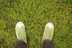 (Froschmann : ) Tags: green grass japan court shoes university saitama puma   rikkyo   k7   niiza sigma30mmf14exdc    puma917mid