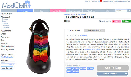 Color Me Katie Shoes!