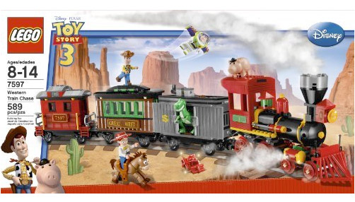 LEGO Toy Story 3 7597 Western Train Chase
