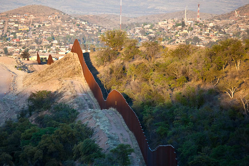 US Mexico Border by Shaan Hurley, on Flickr
