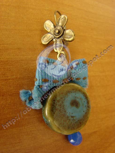 artesania bilbao pendientes azules