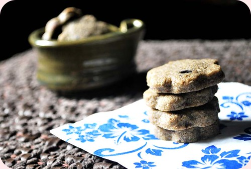 Buckwheat and Cacoa Nibs Butter Cookies