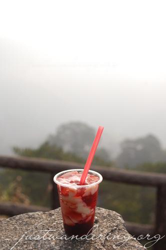 Baguio Strawbery Taho
