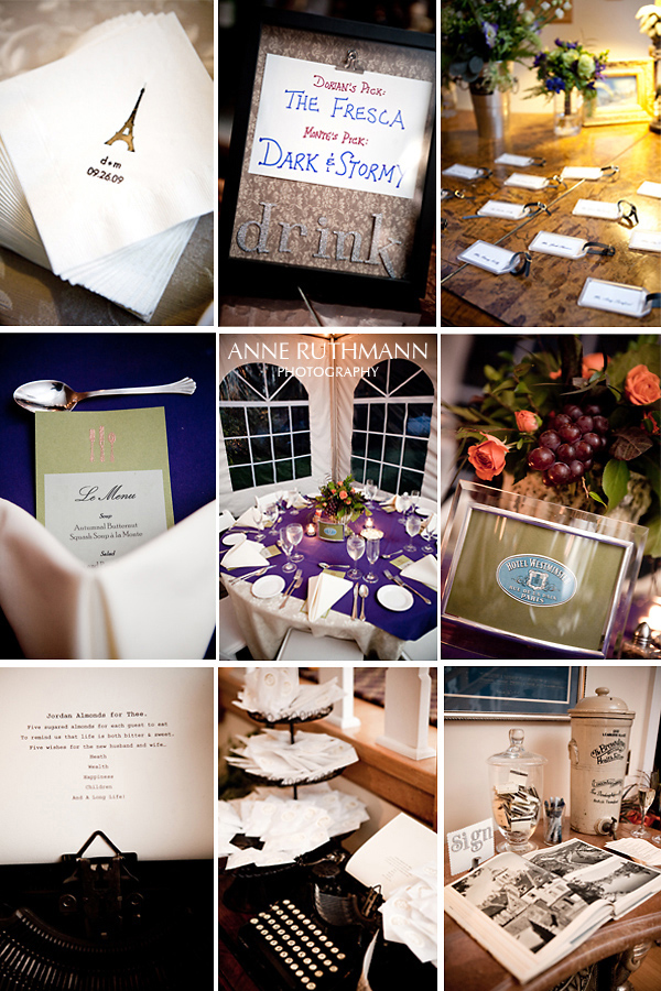 Real Wedding Reception Details