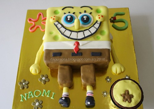 Spongebob Squarepants Cake for Naomi's 5th Birthday