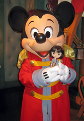 Perrin meets Mickey Mouse