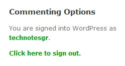 TechCrunch and Wordpress commenting options