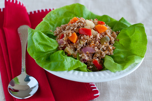 Bulgur Salad with Roasted Vegetables-2