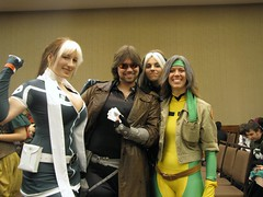 Gambit & Rogues (BelleChere) Tags: costume comic cosplay xmen rogue marvel legacy gambit xtreme bcc bostoncomiccon
