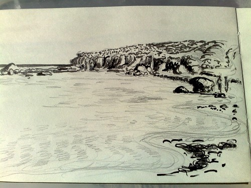 pen and pencil sketch west australia