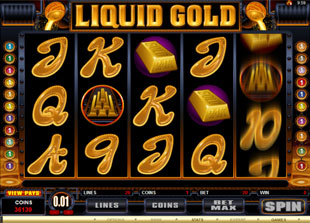 Liquid Gold slot game online review