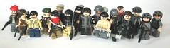 USDF and Resistance (Hound') Tags: lego resistance brickarms usdf