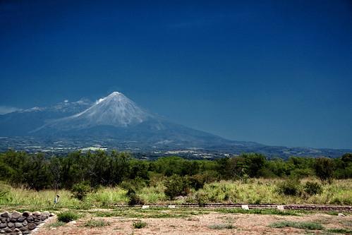 Las Campanas Pyramids - Volcano Gets Huffy
