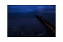 The Simplicity of Blue Silence - Calm Beach View - Broughty Ferry Scotland (Magdalen Green Photography) Tags: longexposure blue nature scotland broughtyferry scottish silence simplicity coolblue scottishbeaches dsc4760 iaingordon thesimplicityofbluesilence calmbeachview