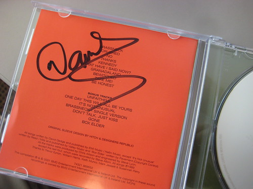 """Reissued """"Bizarro"""" signed by Gedge!"""