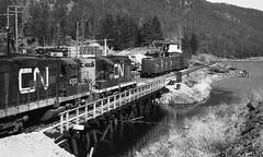 CNR in the BC Okanagan (R R Horne) Tags: cn bc okanagan railroads cnr cnrail