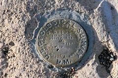 USGS Benchmark (Mike E10) Tags: utah geology hoodoos rockformations americansouthwest brycecanyonnationalpark