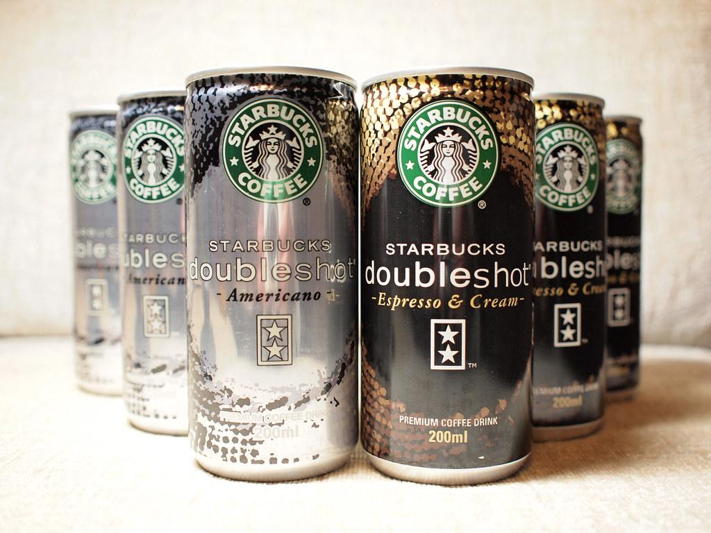 Starbucks Doubleshot espresso cream americano