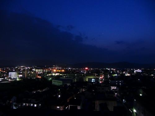 EXILIM EX-FH100:Night Scene