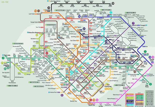 Speculative SMRT Network Map