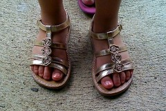 Golden Sandals of Something