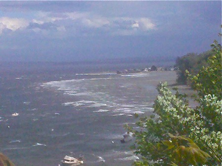 Windstorm on Whidbey - View from Langley to Sandy Point