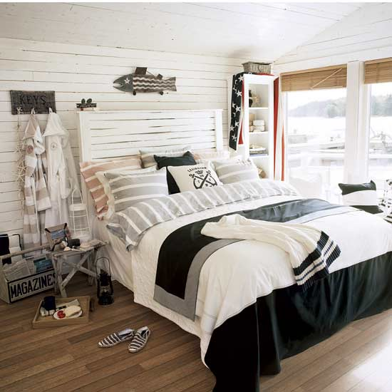 House to Home Coastal Bedroom