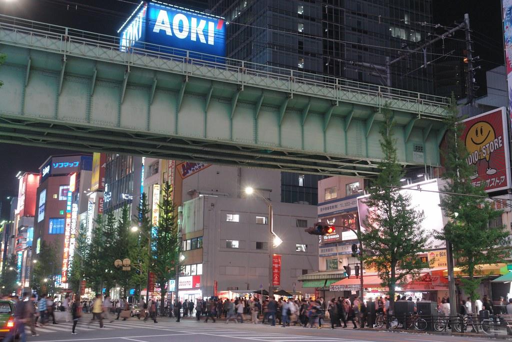 Akihanara Main street