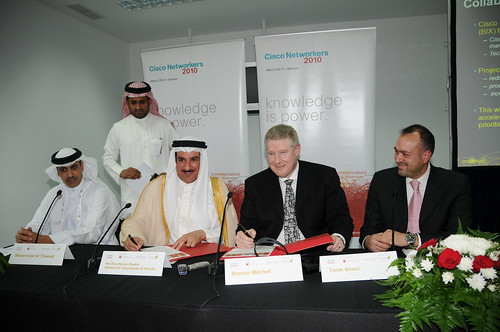 Bahrain Internet Exchange MOU signing 30 March 2010