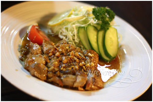 Garlic Chicken Steak from Hana